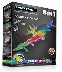 Laser Pegs Combat Fighter