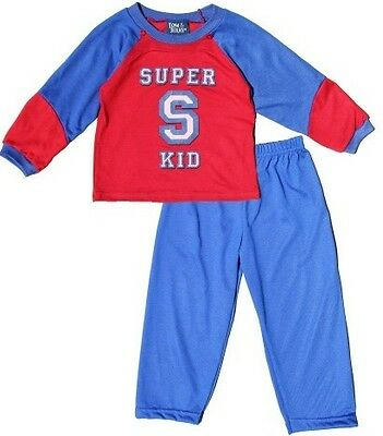 NWT Tom & Jerry Toddler Boy Super Kid Pajama with Cape- Halloween Costume Sz 3T