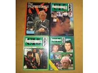"Four Of "" The Professionals"" Annuals 1978,1979 ,1983, 1984. OFFERS WELCOME."