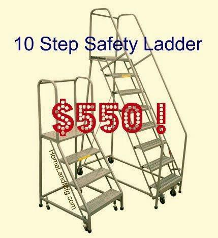 Warehouse Ladder Ebay