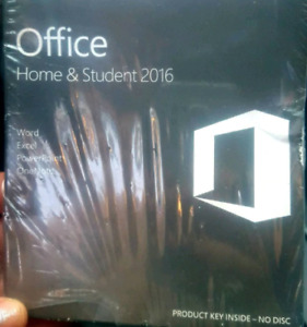 Microsoft Office Home & Student 2016  (for Mac)