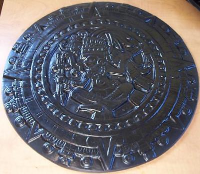 Concrete Cement Plaster Border Art Stamp Aztec Sun Dial 15 Imprint Mat New