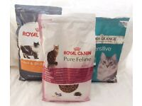 CAT FOOD * Quality Complete Dry Cat Food * Royal Canin, Arden Grange 9 Kg