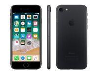 *Factory Unlocked - Excellent* 128GB Apple iPhone 7 Black 4G/LTE latest iOS 11.4.1