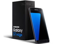Wanted Samsung s7 edge brand new boxed