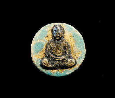 Pendant of Buddha Position Lotus Ceramic Buddha Creation Craft 8811
