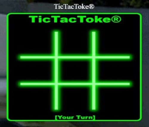 TicTacToke® >>> a playable 420 app game is FOR SALE