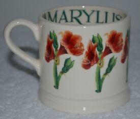 Emma Bridgewater Amaryllis Baby Mug New