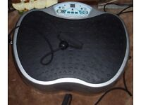 GYM MASTER Crazy Fit Vibration Plate. Silver.