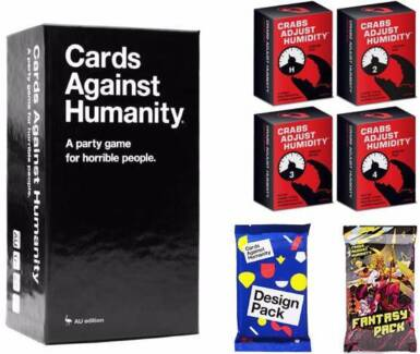 Cards Against Humanity + CAH Expansion