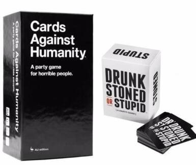 Cards Against Humanity + Drunk Stoned Or Stupid