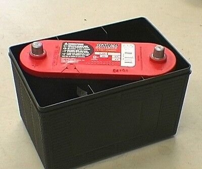 Costa Mesa Nissan >> Original Style Battery Case Hides 6 Volt Optima Battery ...