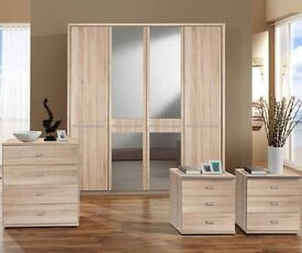 Brand new 4 door wardrobe