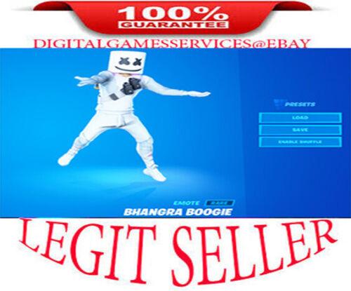 Bhangra Boogie Emote CODE   [ PS4 , XBOX , PC , MOBILE, NINTENDO ] GLOBAL