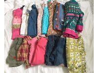 Girls small clothes bundle (16pc) 18m-2yrs 50% Next, M&S, Boden, Ralph Lauren, Gap