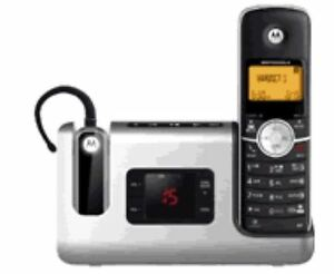 Motorola Cordless Bluetooth Phone with Answering System