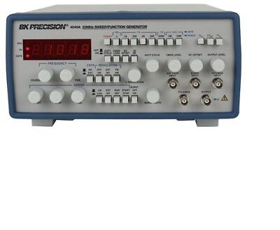 Bk Precision Model 4040a 20mhz Sweepfunction Generator -- New