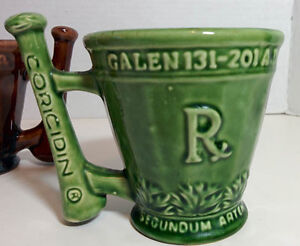 McCoy3 Schering RX Coricidin Advertising Cup Mugs  (Pierrefonds) West Island Greater Montréal image 2