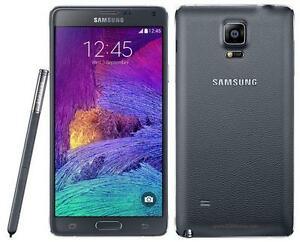Samsung Galaxy Note 4 32gb white/Black Unlocked in mint condition!