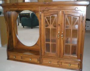 Beautiful Pine Dresser Topper