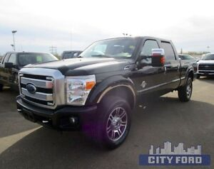 "2015 Ford Super Duty F-350 SRW 4x4 Crew Cab 156"" Platinum"
