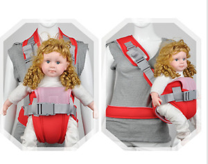 Infant baby carrier - red (0 - 6 month)