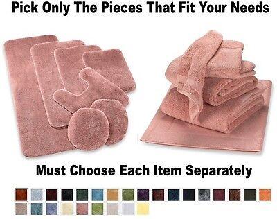 NEW Bath Rugs Bathroom Towel Sets Towels Contour Mats Rug Se