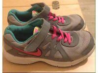 Grey Nike trainers size 2