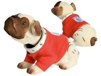 England Football Nodding Dog in England Shirt Red 3 Lions