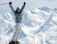 Moniteur de ski alpin recherché
