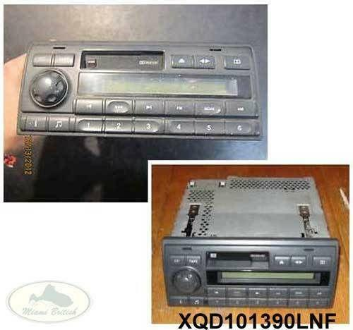 Land Rover Discovery Radio