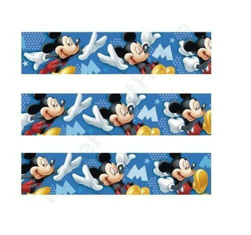 mickey mouse tapete ebay. Black Bedroom Furniture Sets. Home Design Ideas