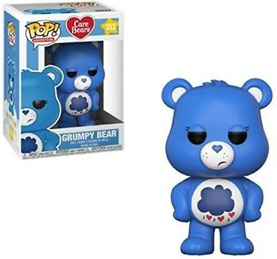 FUNKO POP! ANIMATION: Care Bears - Grumpy Bear [New Toy] Vinyl Figure