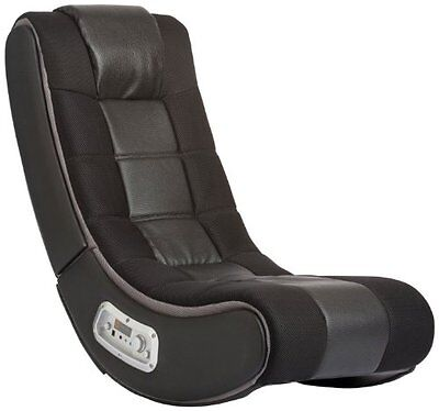 NEW V Rocker 5130301 SE Video Gaming Chair Wireless Black with Grey
