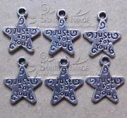 Tibetan Silver Star Charms