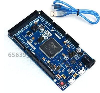 New Arduino Compatible Due R3 Board Sam3x8e 32-bit Arm Cortex-m3 Free Usb Cable