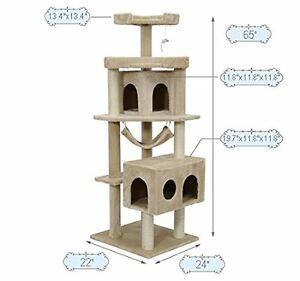 PAWHUT - Various CAT TREE Scratching CONDOS - All Brand New!