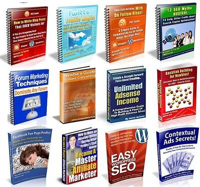 Seo Secrets 11 Set Of Ebooks Worth Over 400 For Better Search Engine Marketing