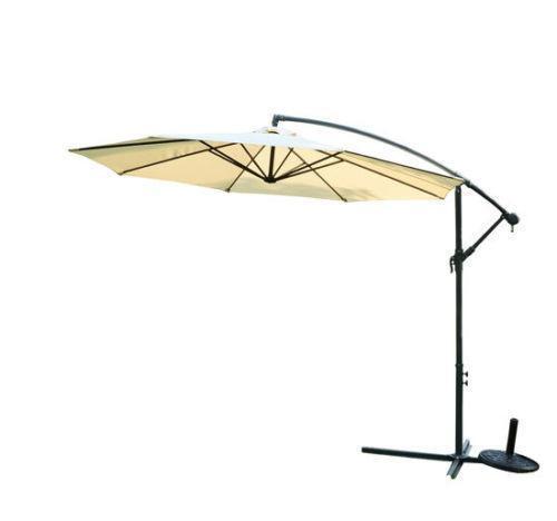 banana cantilever parasol ebay. Black Bedroom Furniture Sets. Home Design Ideas