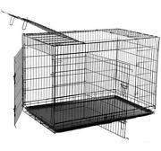 Dog Crate Metal Pan