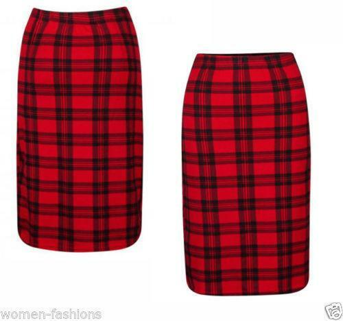 Tartan Pencil Skirt | eBay