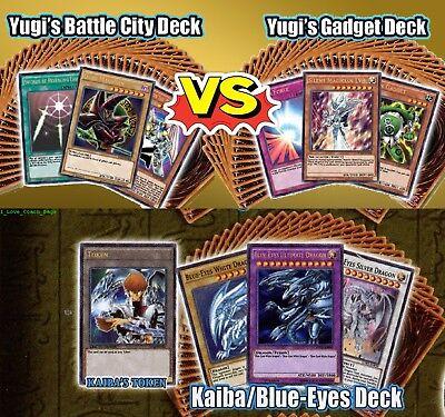 YuGiOh Yugi's 3 Legendary Decks (YGLD Battle City + Gadget) + (Kaiba Ldk2)SEALED, used for sale  Shipping to Canada