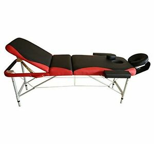 3 Section Folding Portable Message Table Lightweight Bed Couch
