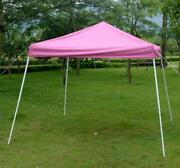 10x10 Canopy Pink