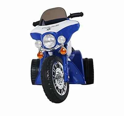 HOMCOM Triciclo Moto Elettrica per Bambini 80×43×54.5cm, Blu