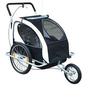2 in 1 Children's Bicycle Trailer & Stroller / Stroller Jogger