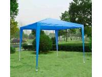 Outsunny 2.7m x 2.7m Garden Heavy Duty Gazebo Marquee Party Tent