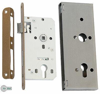 Cerradura de Puerta Ic Eléctrico 72/50 Con Caja la 83 Para Cilindros