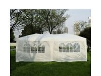 6x3 gazebo white waterproof with sides brand new