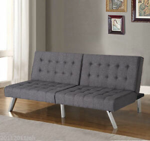 Multi-position Convertible Sofa Bed /Couch Lounger Futon Sofabed